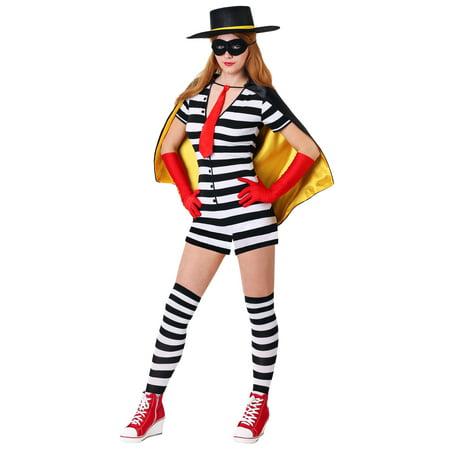 Women's Burglar Costume (Burglar Costume Womens)