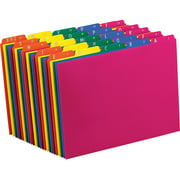 Pendaflex, PFX40142, Top Tab Assorted A-Z File Guides, 25 / Set