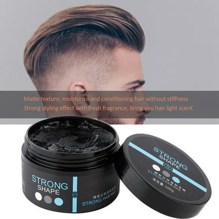 Rdeghly 100g Men Long Lasting Hair Styling Clay Moisturizing Natural Modeling Hair Pomade Wax Hair Clay Hair Pomade Walmart Canada