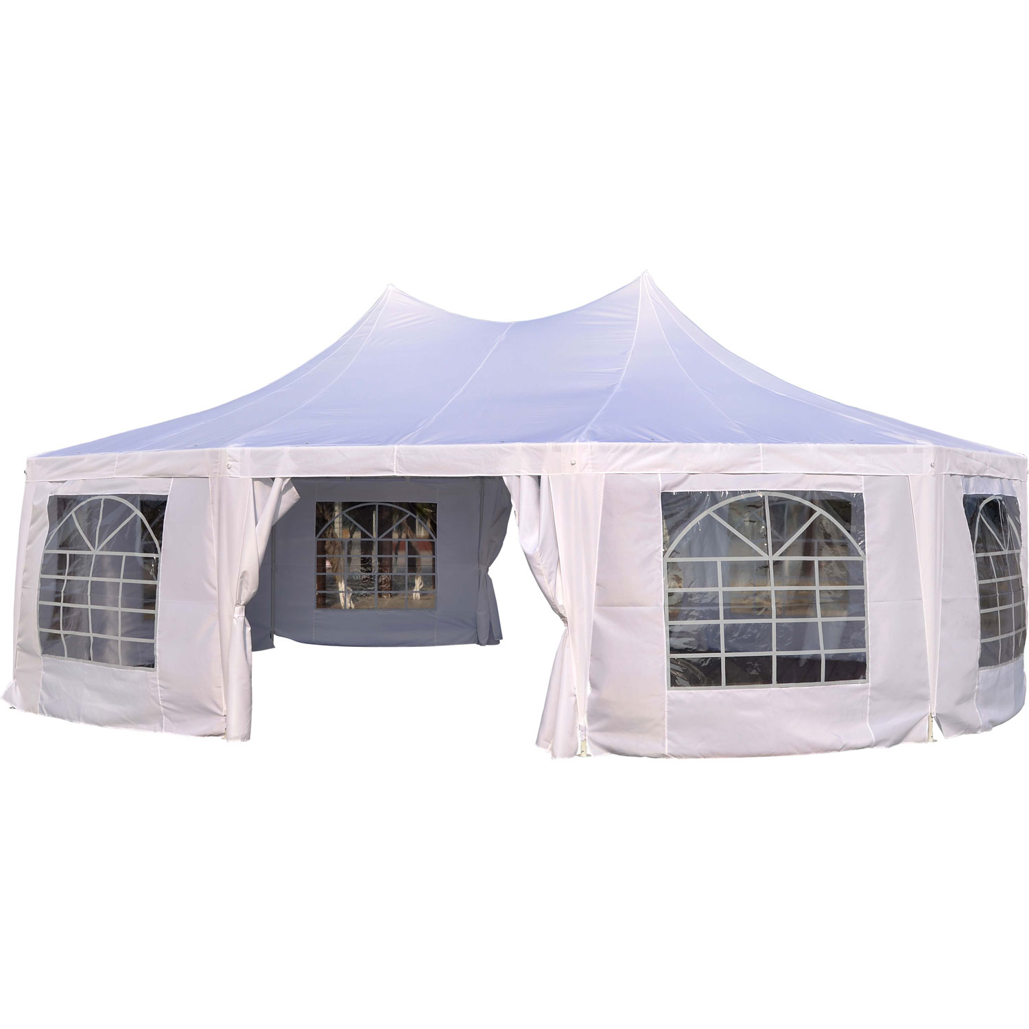 Outsunny 29u0027 x 20u0027 Large Heavy Duty Decagon 10-Wall Party Wedding Gazebo  sc 1 st  Walmart & Outsunny 29u0027 x 20u0027 Large Heavy Duty Decagon 10-Wall Party Wedding ...