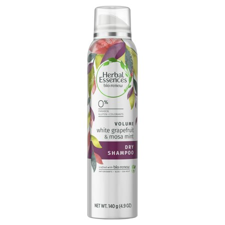 Herbal Essences Bio:Renew White Grapefruit & Mosa Mint Dry Shampoo, 4.9 oz