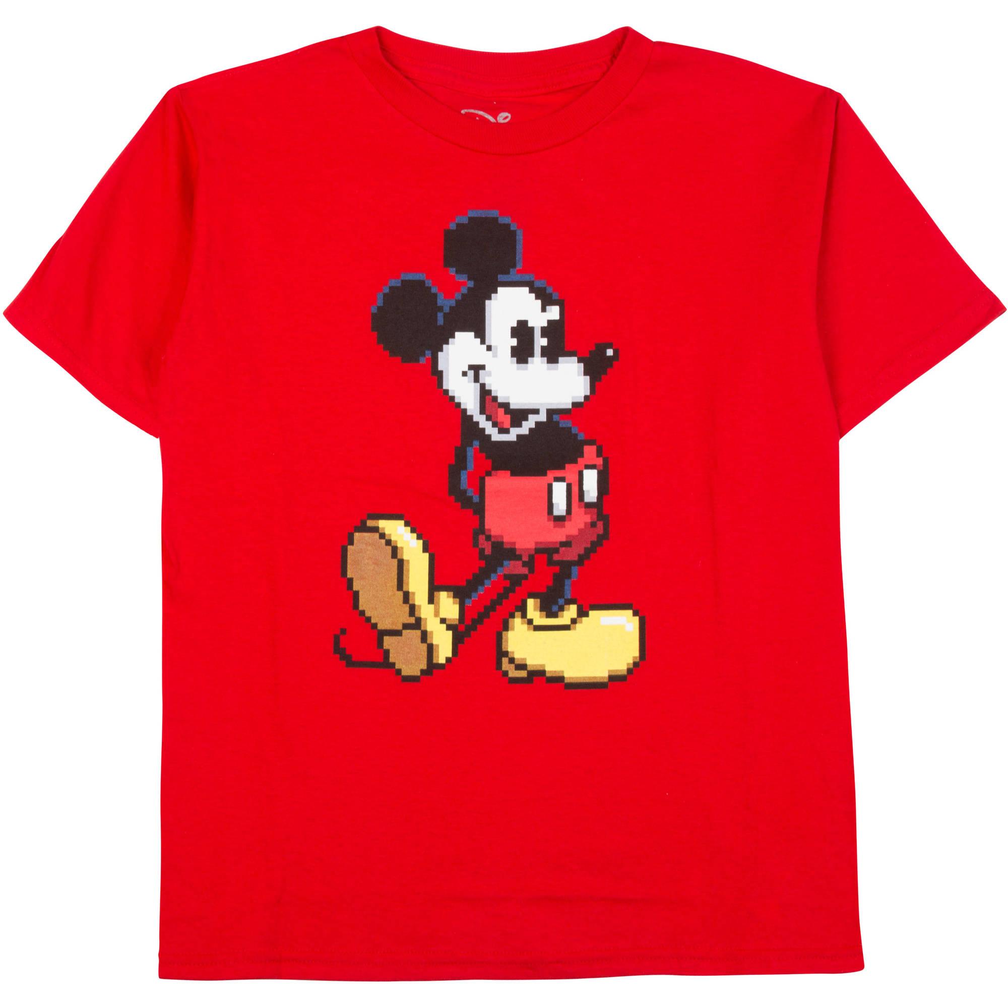 Disney Mickey Pixel Boys Graphic Tee