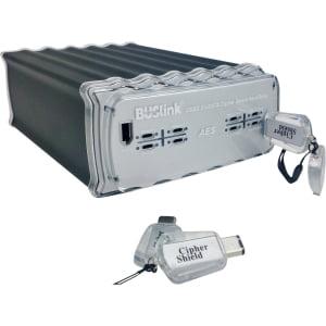 12TB FIPS140-2 CS 512BIT AES BILATERAL USB3.0/USB2.0/ESATA DRIVE