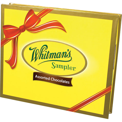 Whitman's Sampler Assorted Chocolates, 10 oz