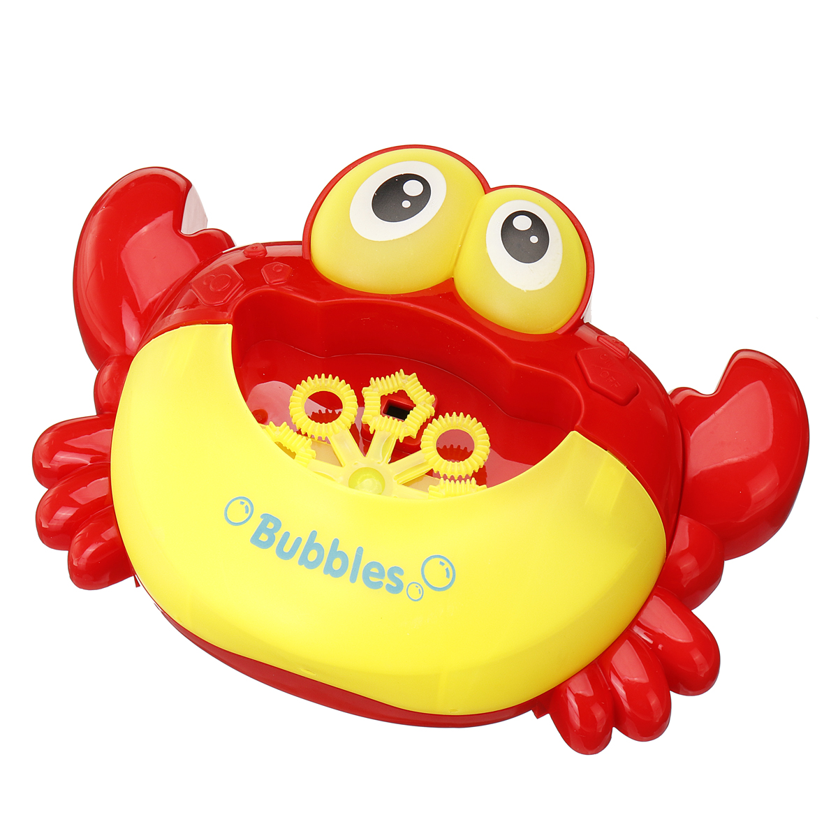 Crab Music Automatic Bubble Blowing Maker Machine w//Flashing Light Xmas Party