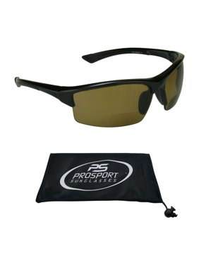 a89d666bf2 Product Image proSPORT Polarized Bifocal Reading Sunglasses Brown for Men  and Women