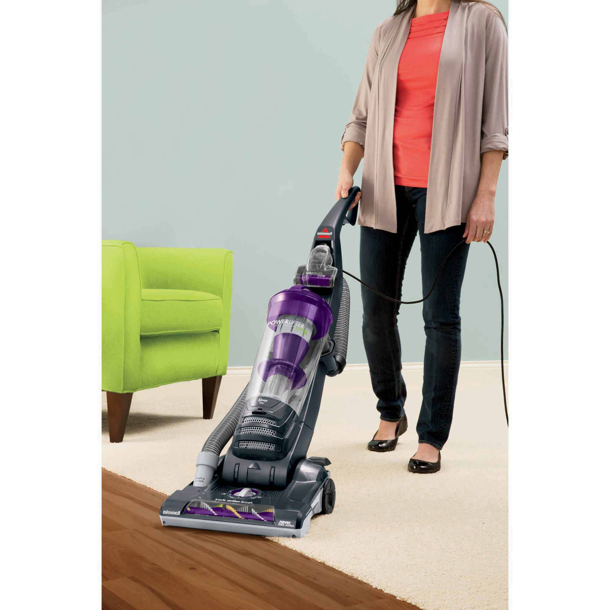 how to fully clean bissell 1309