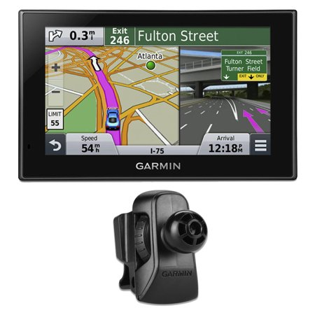 Garmin Nuvi 2539Lmt 5  Advanced Series Gps Navigation W Lifetime Maps Vent Mount Bundle