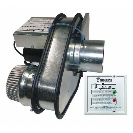 Dryer Booster Duct Fan,60Hz,120VAC,50W TJERNLUND (Best Dryer Booster Fan)