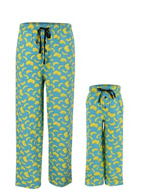 UB Kids Banana Print Matching Family Father's Day Pajama Pants (7)