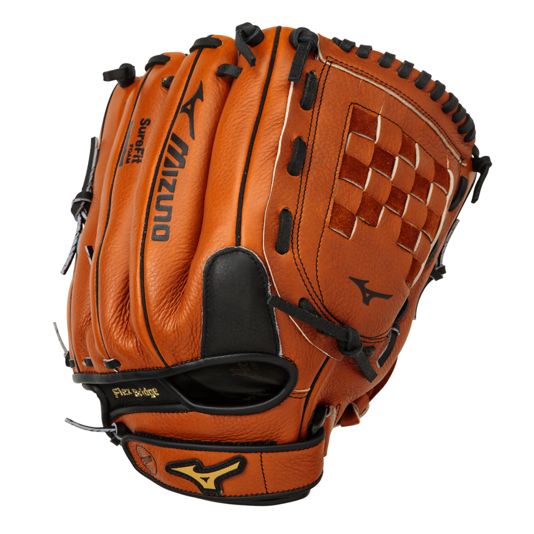 Mizuno Prospect Leather Baseball Glove, 12.00in, Right Hand Throw