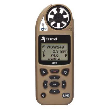 Weather Meter,LCD,Desert Tan w/WiFi KESTREL 0855LVTAN