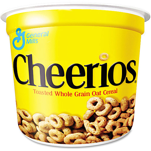 Cheerios Cereal Cups, 6ct