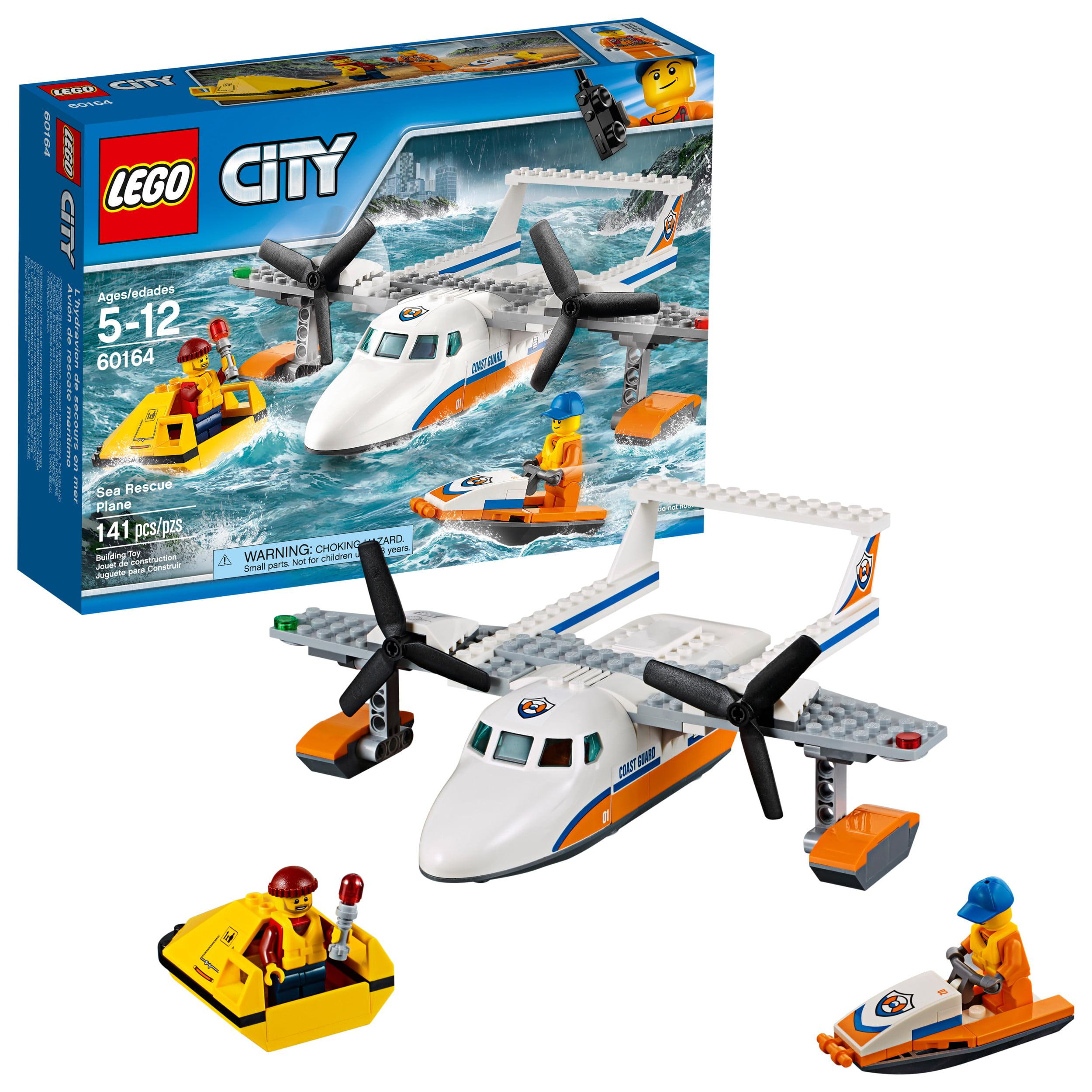 Lego City Coast Guard Sea Rescue Plane 60164 by Lego