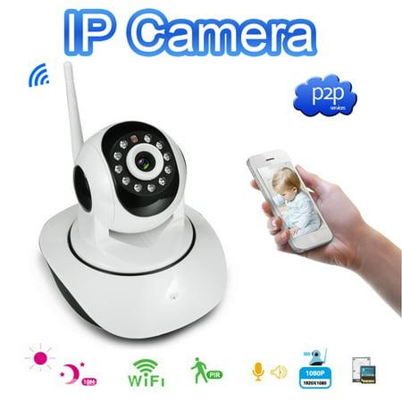 Hd 720P Wireless Wifi Network P2p Security Night Vision Ip Ptz Camera Web Cam Eu Plug