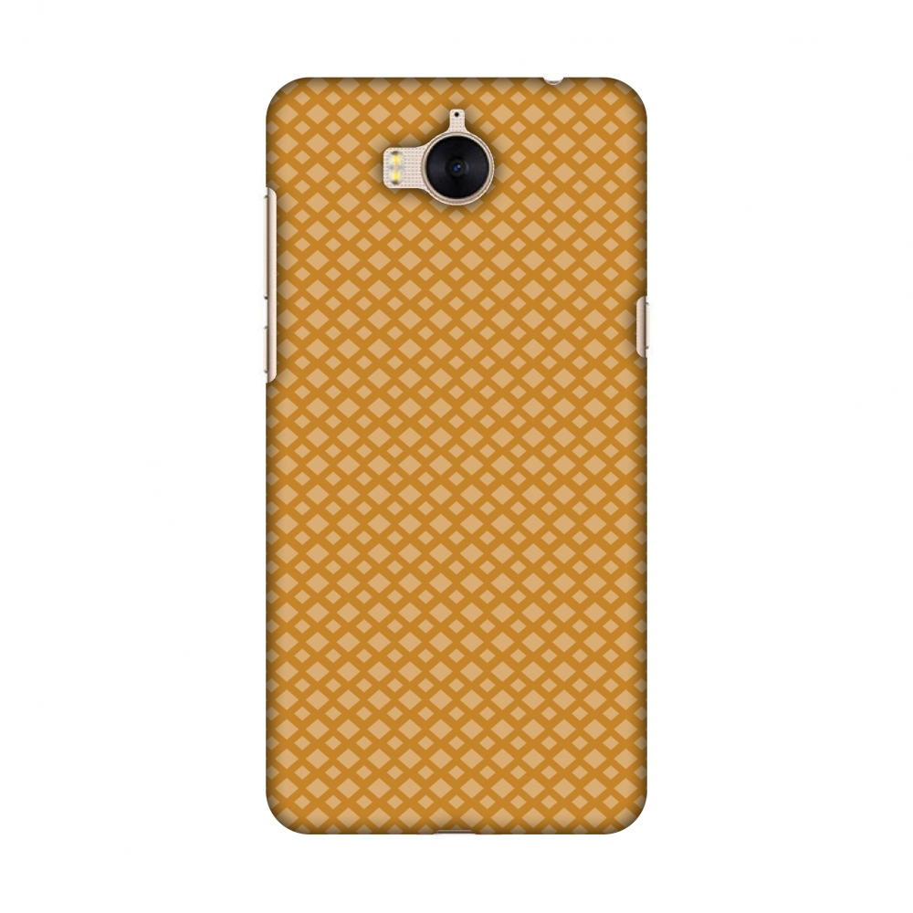 Huawei Y5 2017 Case, Premium Handcrafted Printed Designer Hard Snap on Shell Case Back Cover with Screen Cleaning Kit for Huawei Y5 2017 - Carbon Fibre Redux Desert Sand 7