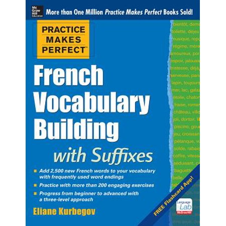 Practice Makes Perfect French Vocabulary Building with Suffixes and Prefixes : (beginner to Intermediate Level) 200 Exercises + Flashcard App - Halloween Flashcards French