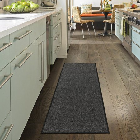Charcoal Multi Area Rugs (Ottomanson Oscar Collection Contemporary Area or Runner Rugs )
