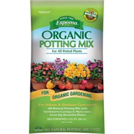 Espoma Organic Potting Mix, 2cu ft