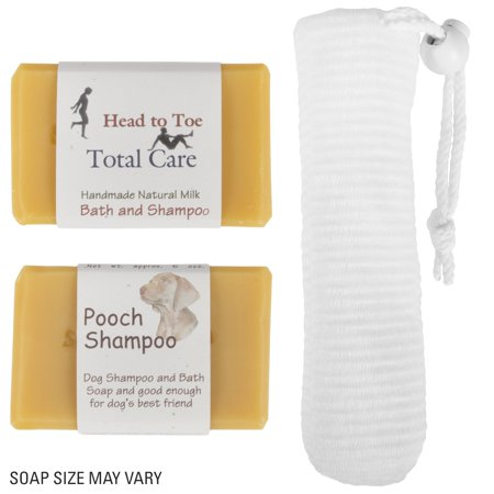 Goats Milk Shampoo - Southern Belles Goat Milk Soap Bar - Head to Toe Body Soap and Shampoo