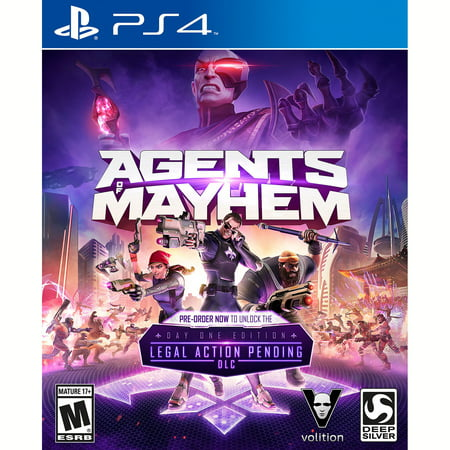 Agents of Mayhem - Launch Edition for PlayStation 4 Deep (Gameboy Advance Sp Pikachu Edition For Sale)