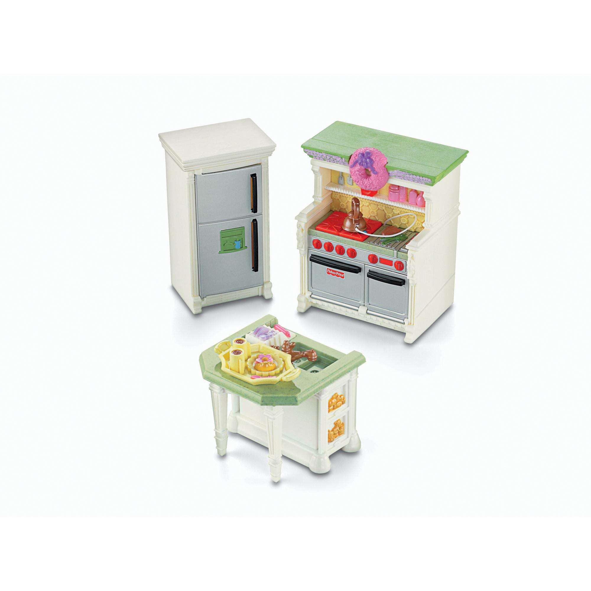 Fisher-Price Loving Family Dollhouse Furniture, Kitchen - Walmart.com