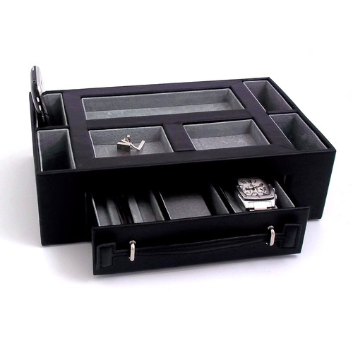 Bey-Berk Rectangular Watch Box