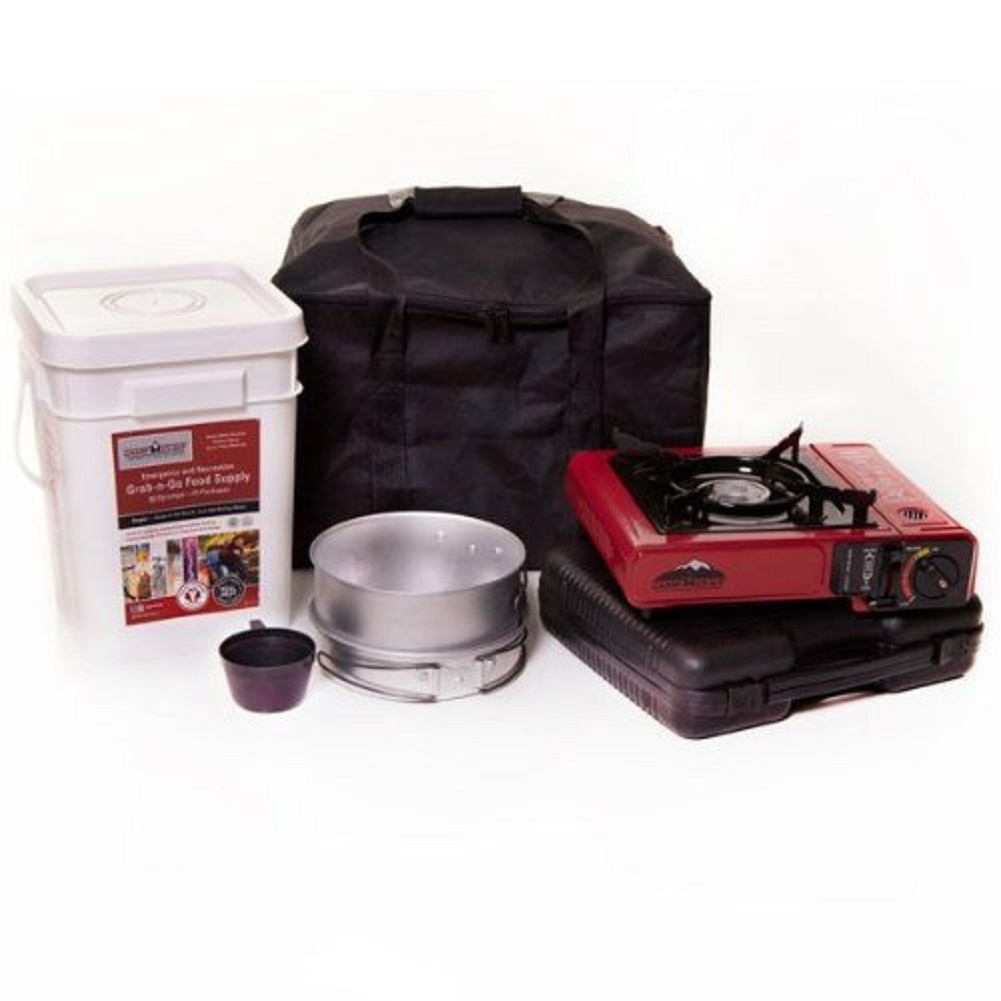 Camp Chef 72-Hour Emergency Food and Cooking Kit, Enough for 4