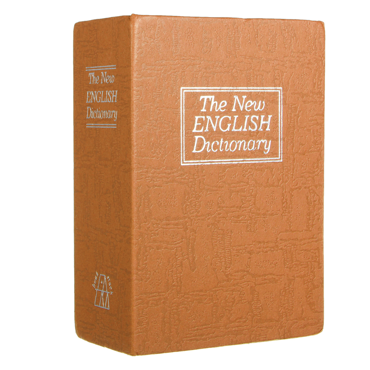 Large Home Dictionary Book Secret Safe Storage Key Lock Box Cash with 2 Key for Traveling Store Money Jewelry Passport