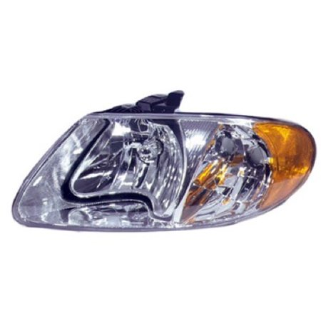 Go-Parts » 2001 - 2007 Chrysler Town & Country Front Headlight Headlamp Assembly Front Housing / Lens / Cover - Left (Driver) Side - (113.3