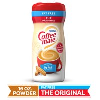 Nestle Coffeemate Fat Free Original Powder Coffee Creamer 16 oz. Canister (3 Pack)