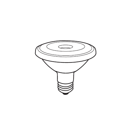 3000f Replacement - Replacement for PHILIPS 12.5PAR30S/F25/CW 3000 AF SO replacement light bulb lamp