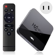 TV Box, H96mini H8 2GB+16GB TV Box Android 9.0 RK3228 4K 2.4G/5G Wifi Bluetooth 4.0 HD TV Box