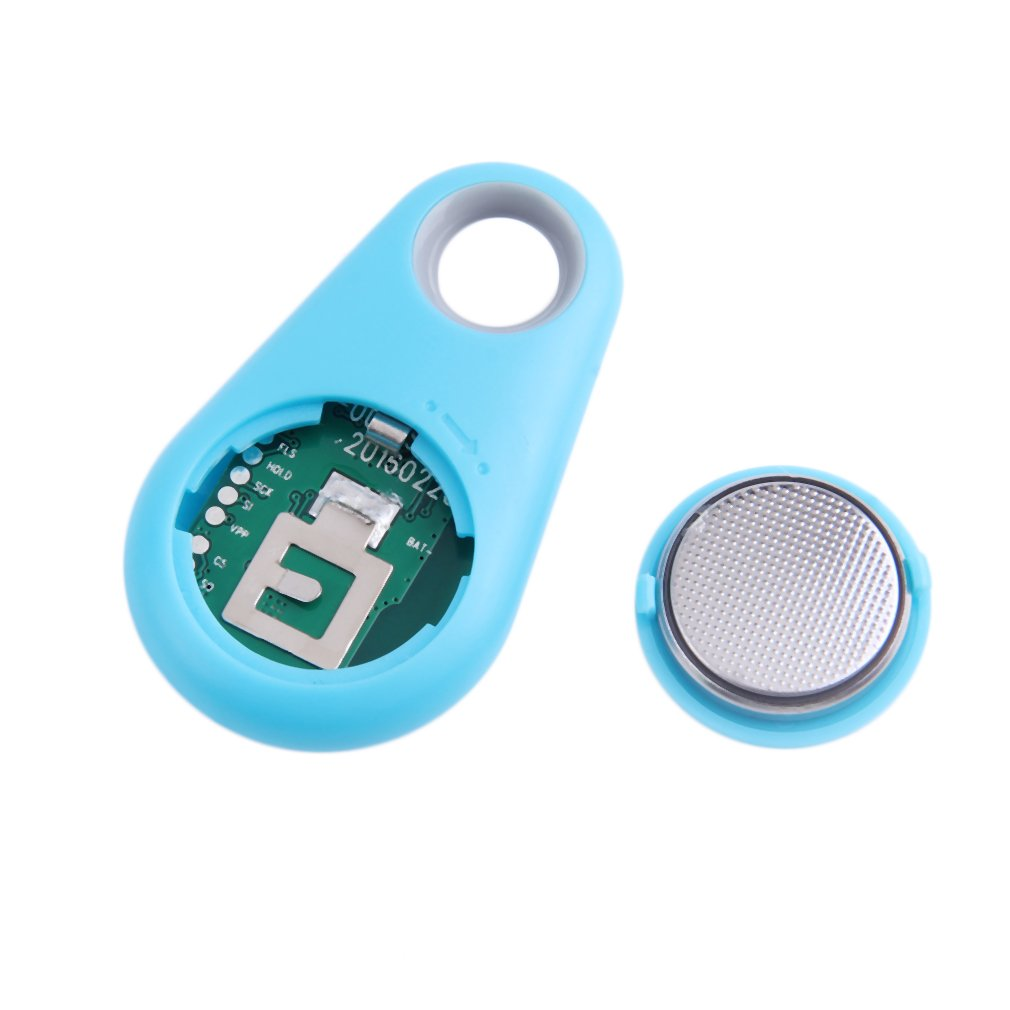 Blue Smart Finder Bluetooth 4.0 Tracer Child GPS Locator Tag Alarm Key Tracker