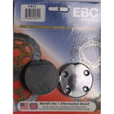 EBC Organic FA Series Brake Pad - Front for Honda CB 500 Twin DOHC 1975-1976