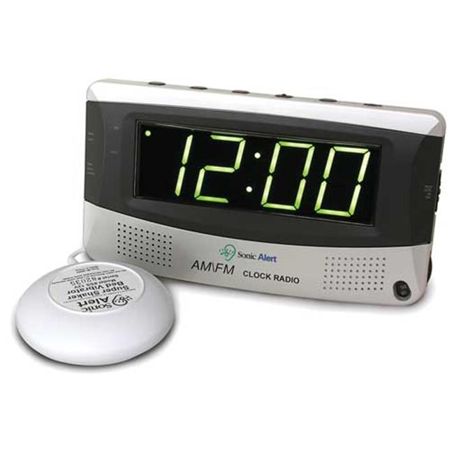 Sonic Alert SBR350ss Vibrating Alarm Clock