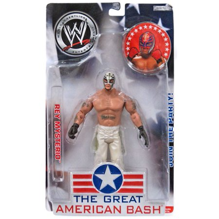 WWE Wrestling The Great American Bash Rey Mysterio Action