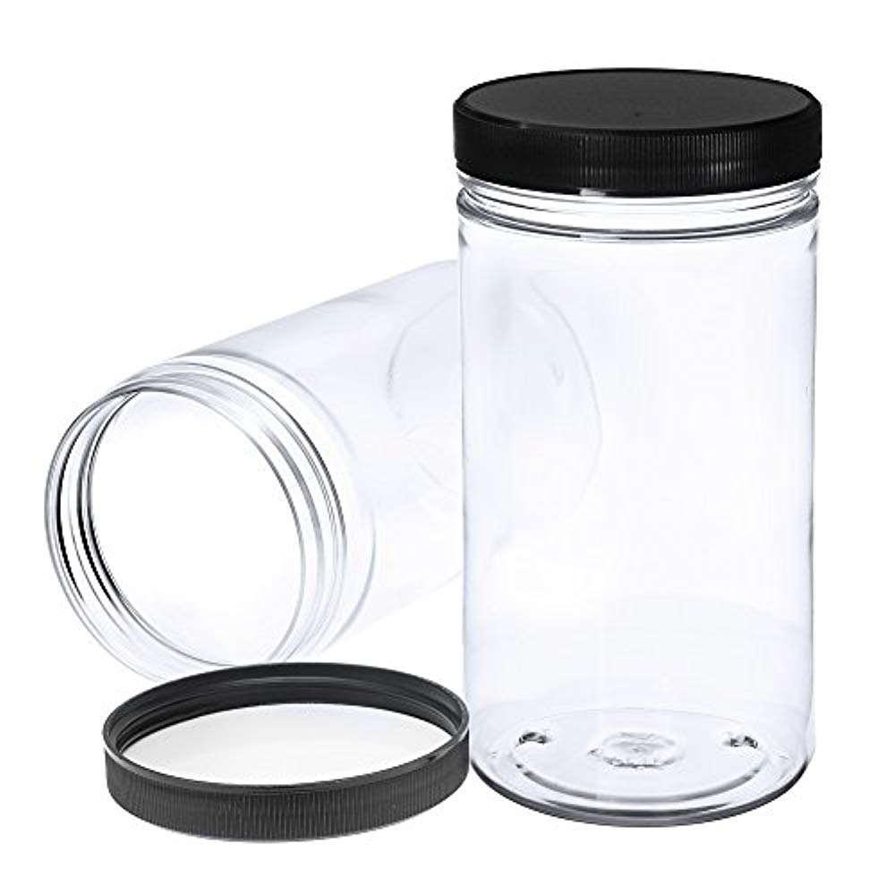 Squad Marketing Pack Of 6 32 Oz Large New Clear Empty Plastic