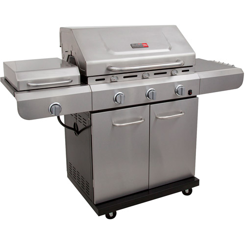 Char-Broil Performance TRU-Infrared 3-Burner Deluxe Gas Grill with Side Burner