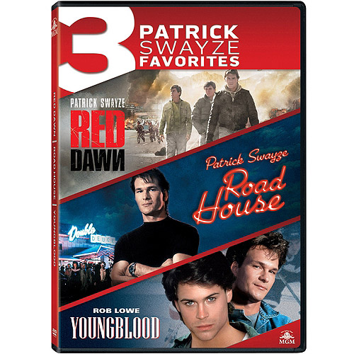3 Patrick Swayze Favorites: Red Dawn / Road House / Youngblood