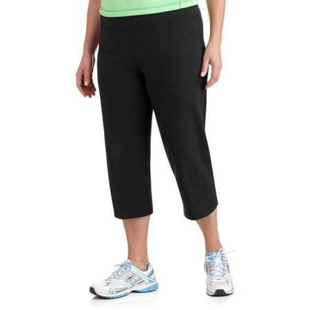 3dd016933d Danskin Now - Womens Plus Size Dri More Core Capri Pants - Walmart.com