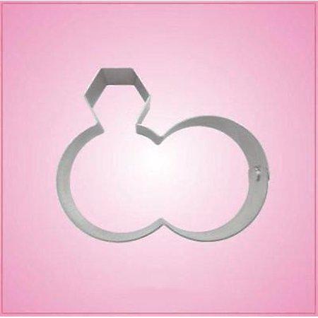 Wedding Rings Cookie Cutter