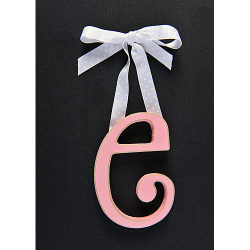 Forest Creations Letter E Hanging Initial
