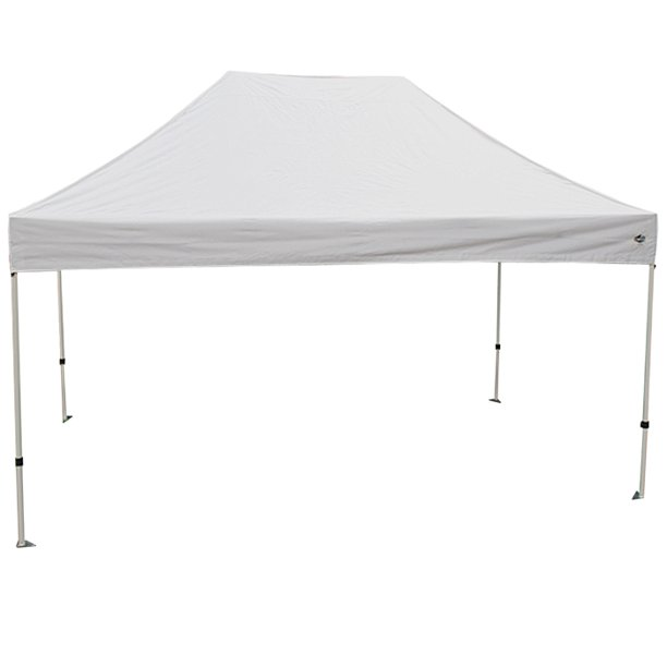 King Canopy Athena 10x15 White Frame Instant Pop Up Tent W White Cover Walmart Com Walmart Com