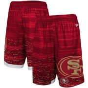 San Francisco 49ers New Era Training Daze Shorts - Scarlet