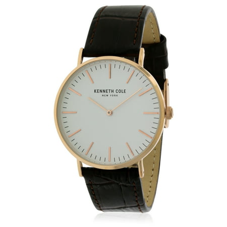 Kenneth Cole Men's Leather Watch KC50507002 (Kenneth Cole Watches Rose Gold)