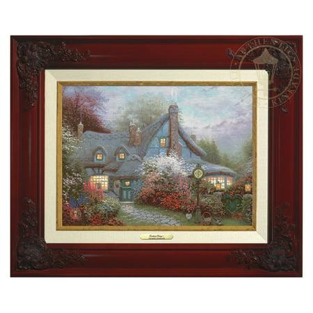 Thomas Kinkade Sweetheart Cottage - Canvas Classic (Brandy - Thomas Kinkade Sweetheart Cottage