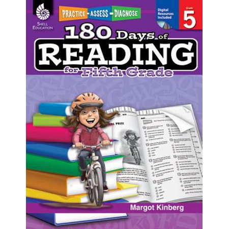 180 Days of Reading for Fifth Grade (Grade 5) : Practice, Assess,