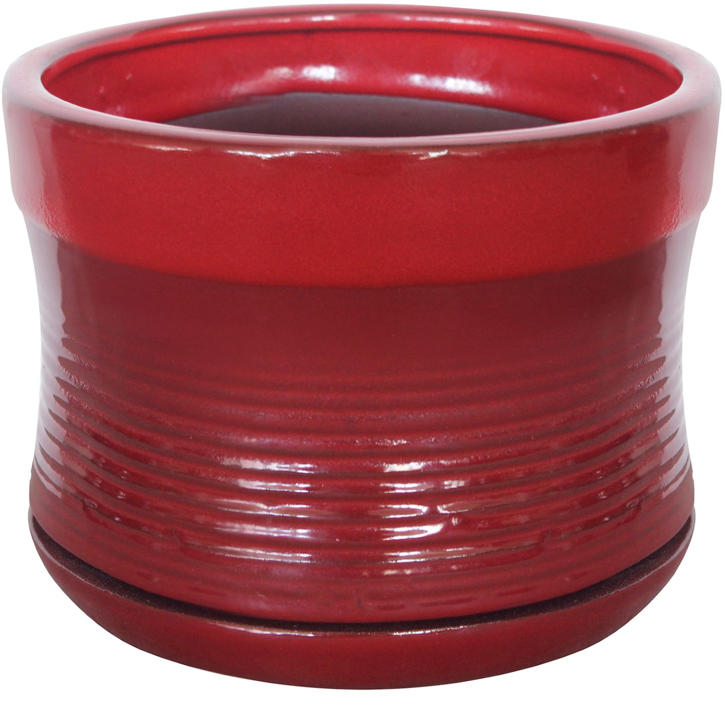 7.5 inch Red Pot