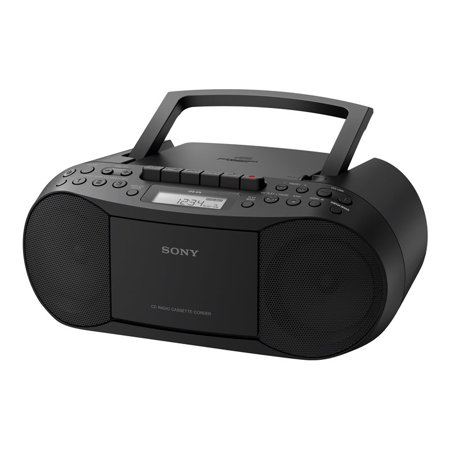 Best Sony CFD-S70 - Boombox - 3.4 Watt - black deal
